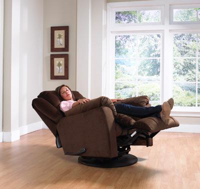 Gibson forgó - hintázó extra kényelmes TV fotel