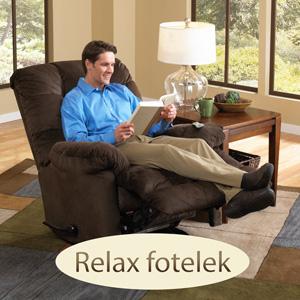 TV fotel, relax fotel Amerikából extra kényelmes ülésekkel