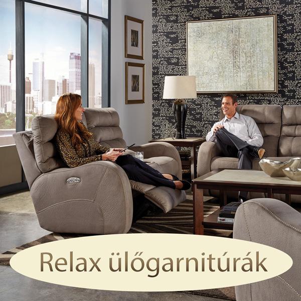 Relax ülőgarnitúra kényelmes ülésekkel - 3 2 1 garnitúra