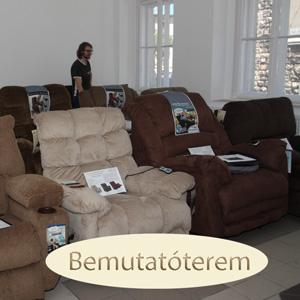 TV fotel és relax kanapé Bemutatóterem Budapesten