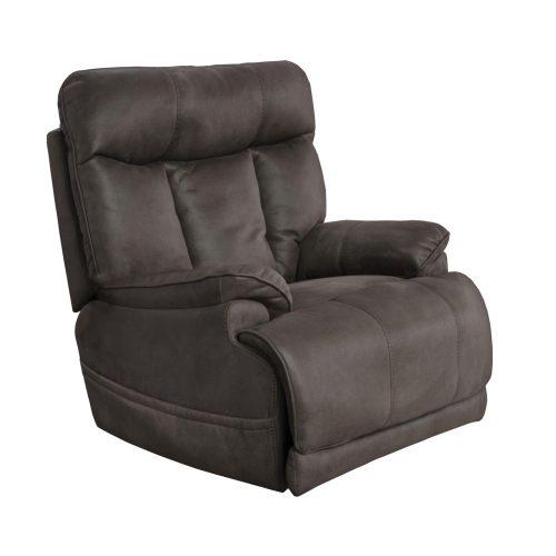 Anders wellness fotel masszírozó funkcióval ülés fűtéssel motoros deréktámasszal és fejtámlával csokoládébarna szövet kárpittal raktárról