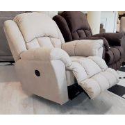 Gilmore 3 1 1 motoros relax ülőgarnitúra Bronx Camel színű szövet kárpittal raktárról - 10% akció