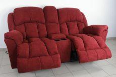Gilmore 2 személyes italtartós relax kanapé