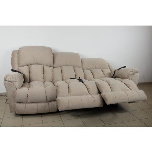 Gilmore 3 személyes full relax kanapé motoros opcióval