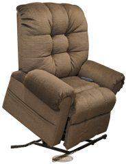 Omni extra méretű és terhelhetőségű felállás segítő senior XXL TV fotel