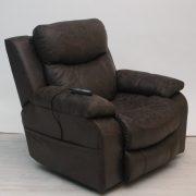 Palmer wellness fotel masszírozó funkcióval - motoros deréktámasszal és fejtámlával - extra kényelmes üléssel