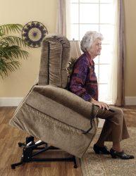 Patriot felállás segítő senior TV fotel extra kényelmes üléssel