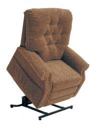 Patriot senior TV fotel őszi barna színű szövettel raktárról