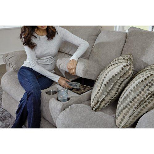 Sadler 2 személyes motoros mozi betétes relax kanapé