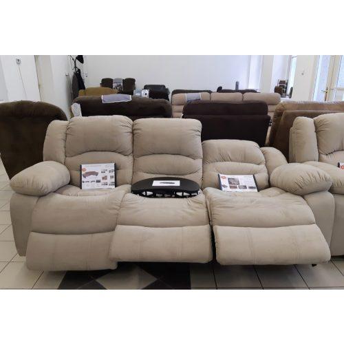 Tessin 3 személyes full relax kanapé
