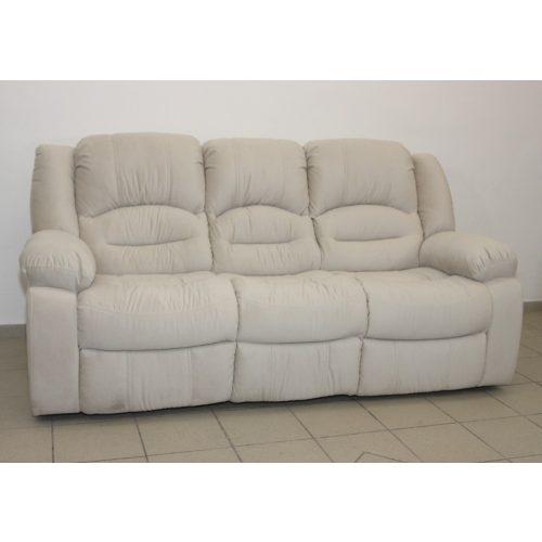 Tessin 3 személyes hagyományos kanapé nagy kárpit választékkal