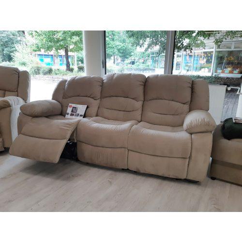 Tessin 3 személyes relax kanapé