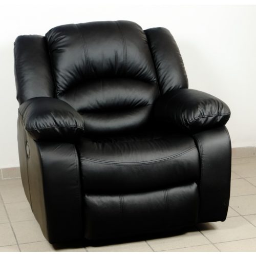 Tessin fotel valódi bőr kárpittal választható relax mechanizmussal