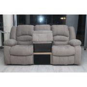 Tessin ágyazható 3 személyes kanapé Torres világos barna szövet kárpittal raktárról kapható