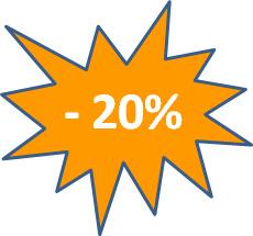 20 százalék engedmény