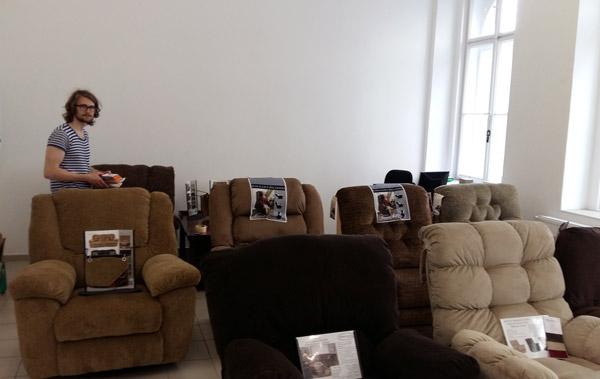 Fotel, kanapé, ülőgarnitúra Bemutatóterem