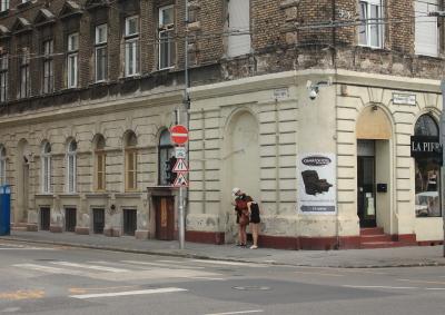 A Bajza utca - Podmaniczky utca sarkon molino