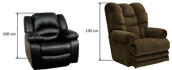 Fotel magasság