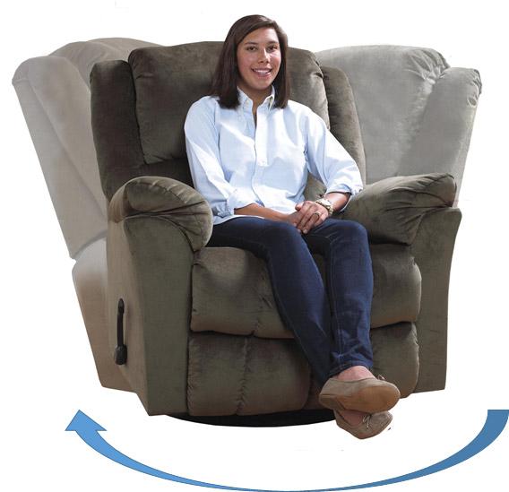 Forgó - hintázó TV fotel