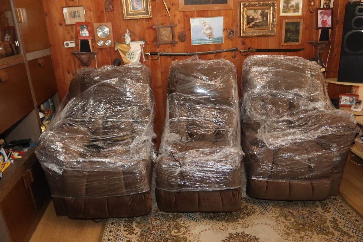 Gilmore szerelhető relax kanapé