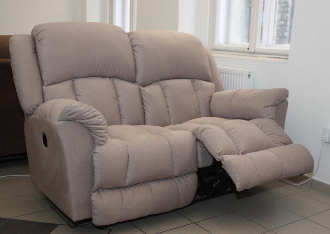 Gilmore 2 személyes relax kanapé