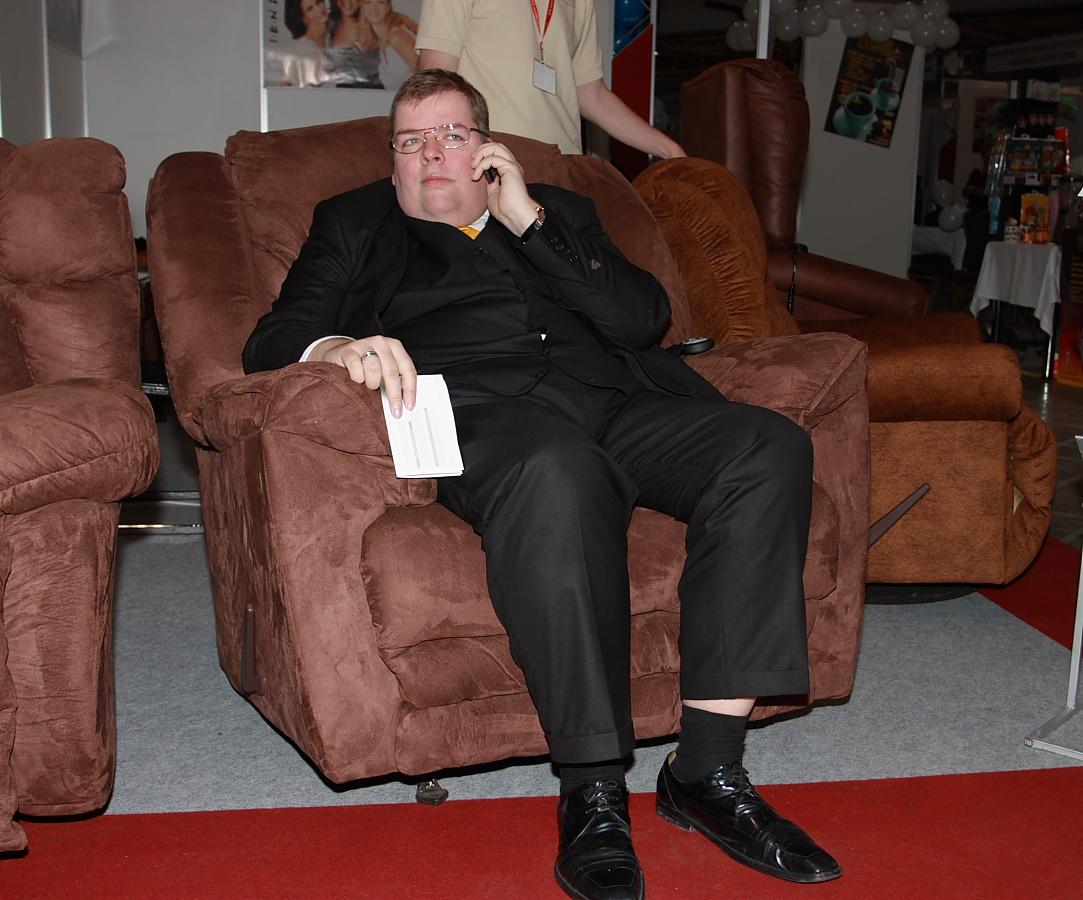 Schmuck Andor Úr is talált megfelelő fotelt