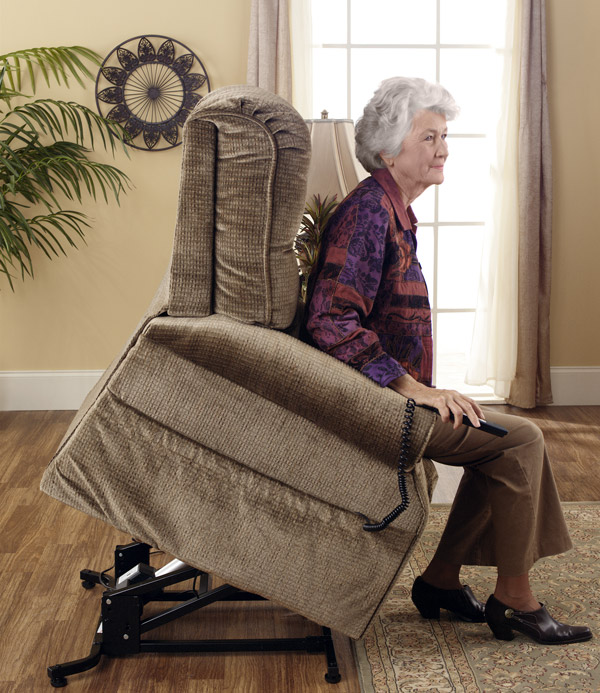 Felállás segítő fotel