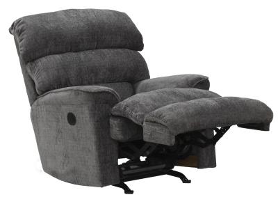 Pearson motoros TV fotel sötétszürke