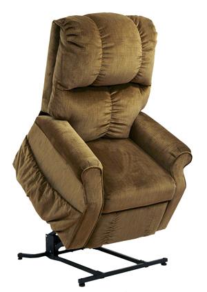 Somerset senior TV fotel havana szivar barna szövet kárpittal