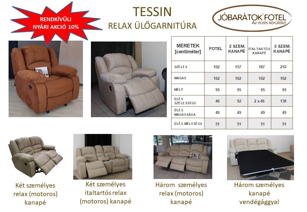 Tessin relax ülőgarnitúra