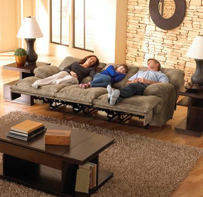 Voyager 3 személyes full relax kanapé