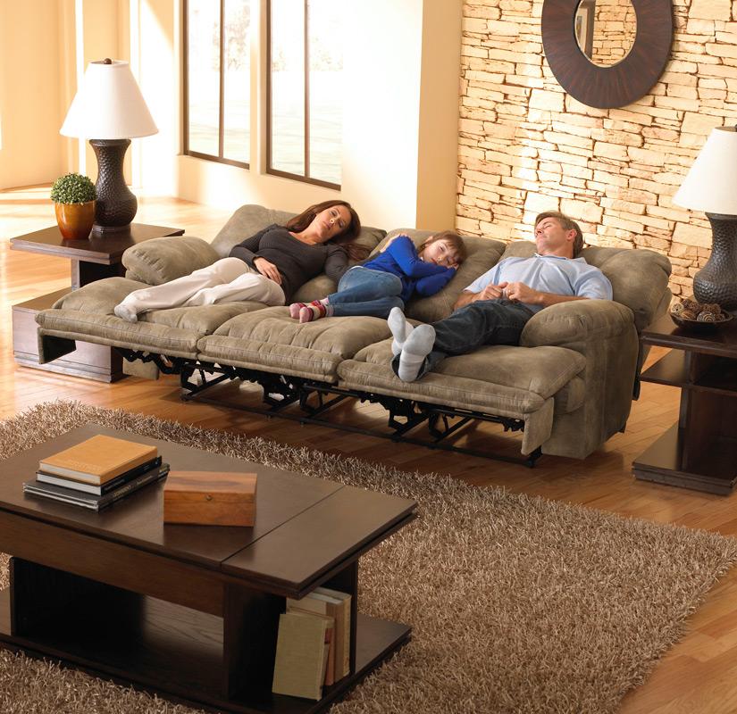 Voyager fekvő helyzetig dönthető kanapé